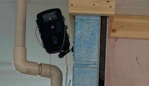 アパートに防犯カメラを設置した件